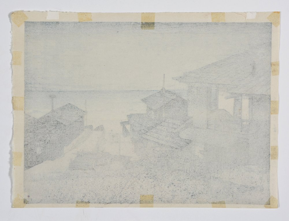 Hasui Kawase woodblock - 4