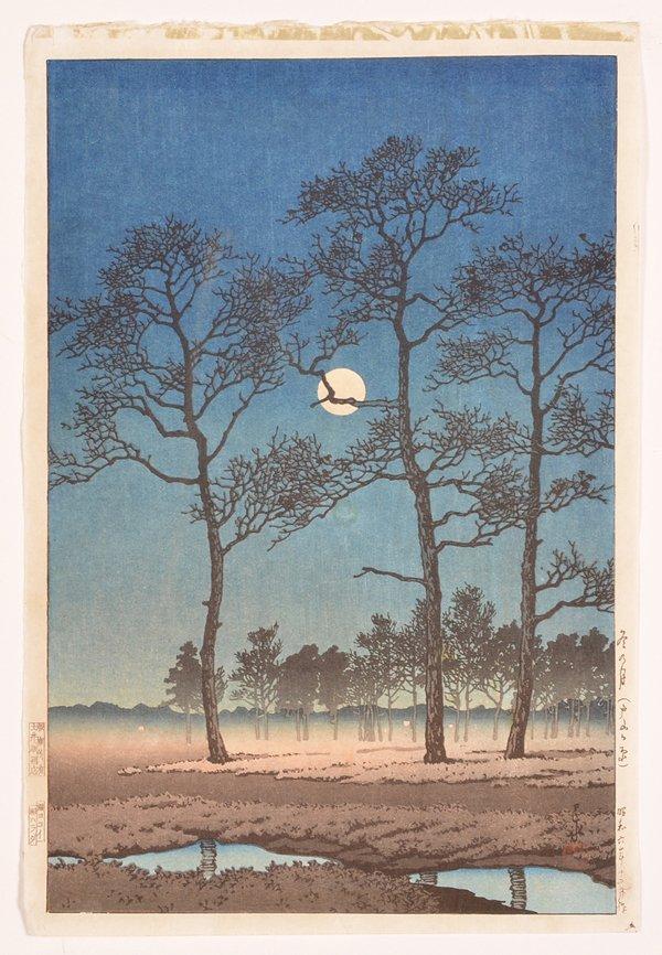 Kawase Bunjiiro Hasui woodblock
