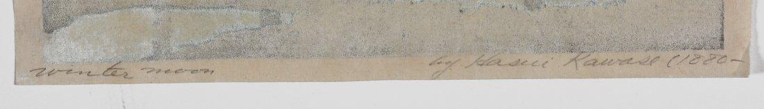 Kawase Bunjiiro Hasui woodblock - 4