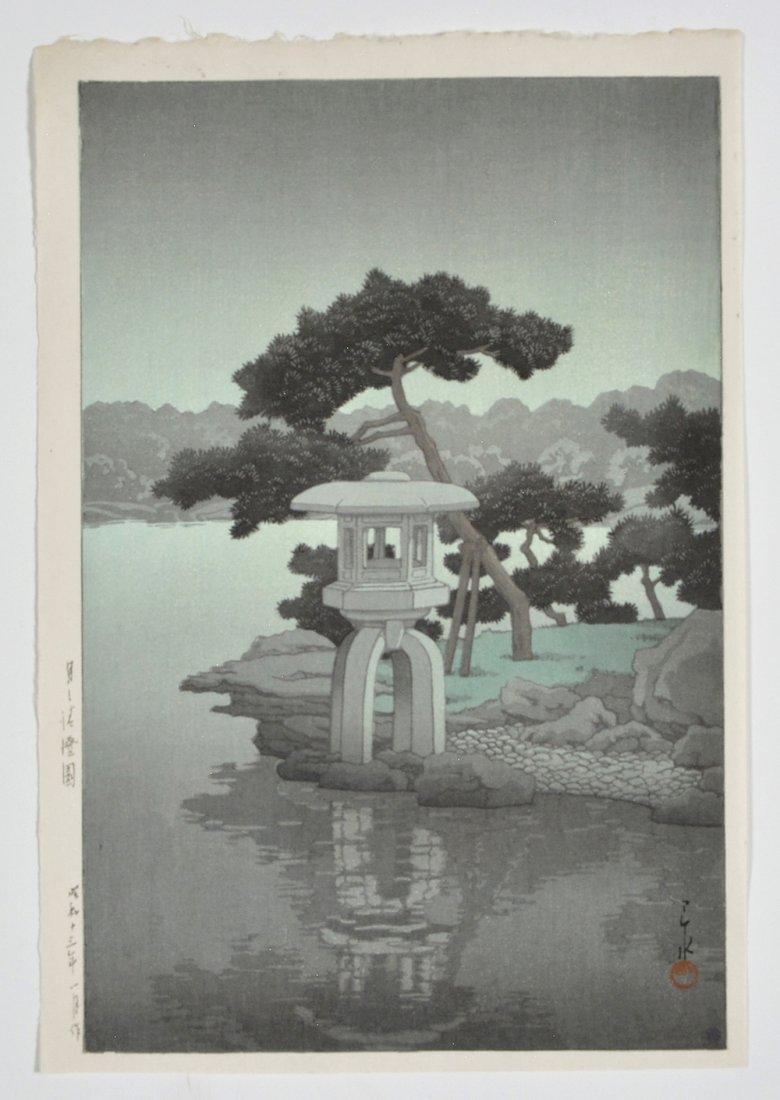 Kawase Bunjiiro Hasui woodblock,