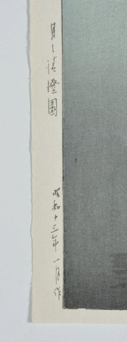 Kawase Bunjiiro Hasui woodblock, - 3