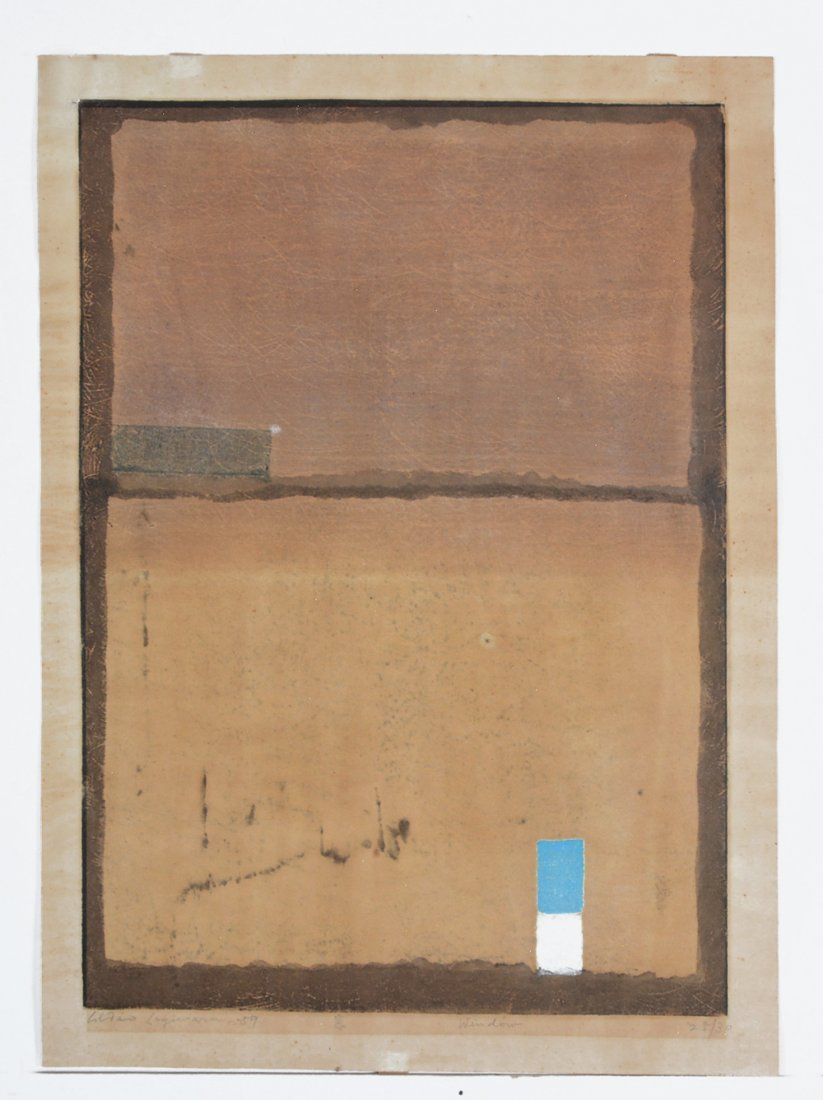 Hideo Hagiwara woodblock