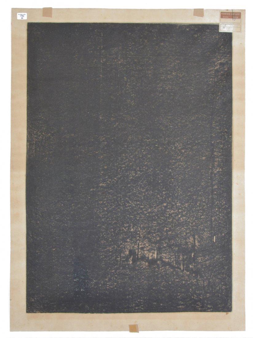 Hideo Hagiwara woodblock - 4