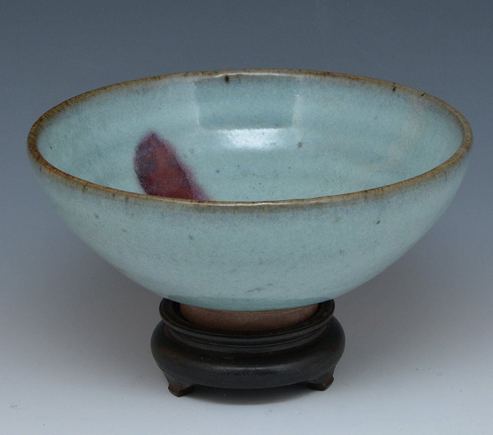 Chinese Purple Splashed Ch'un Bowl