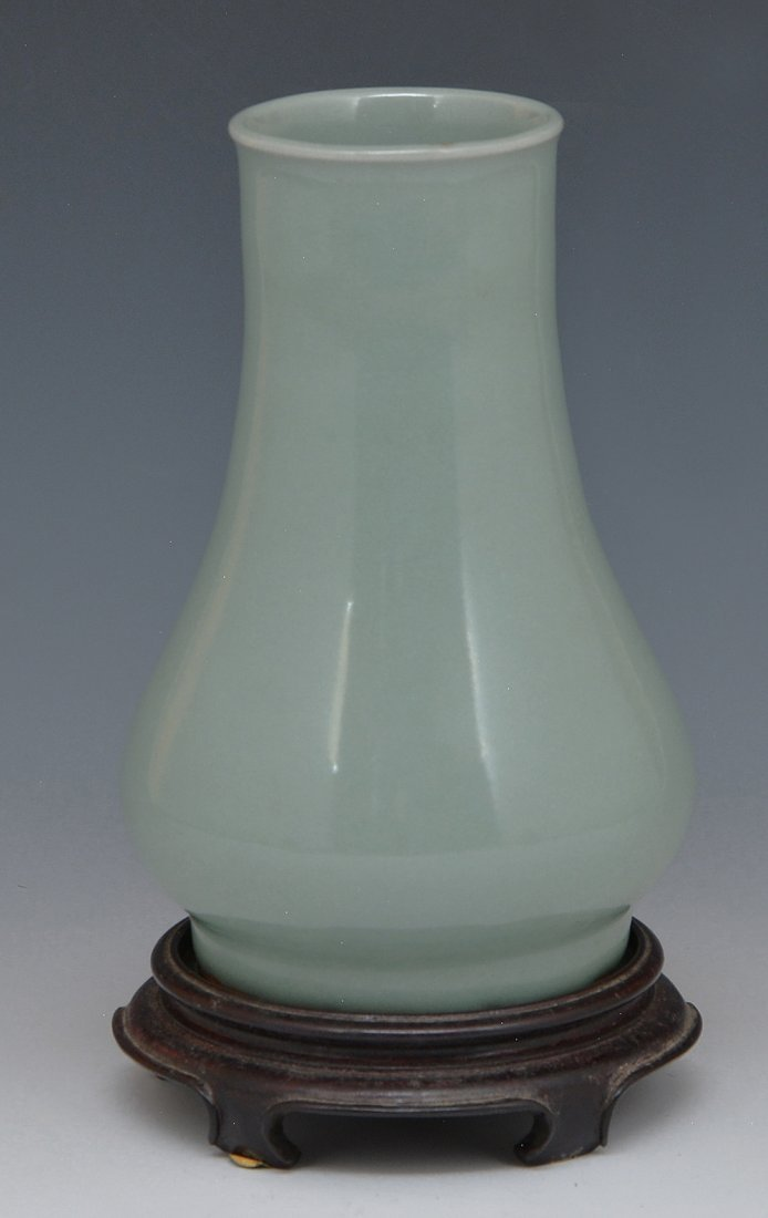 Chinese Lungch'uan Celadon Vase