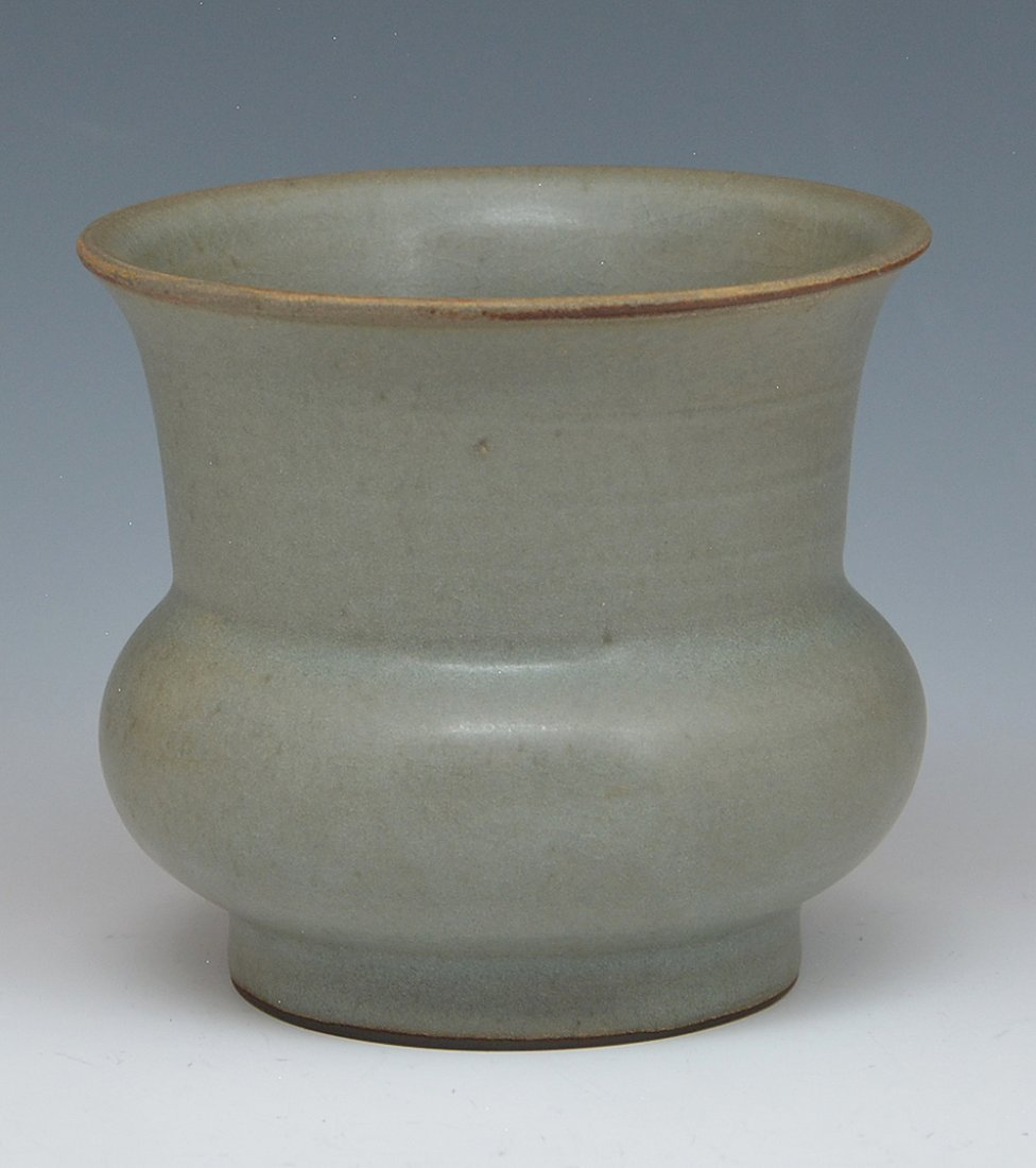 Chinese Lungch'uan Celadon Jar