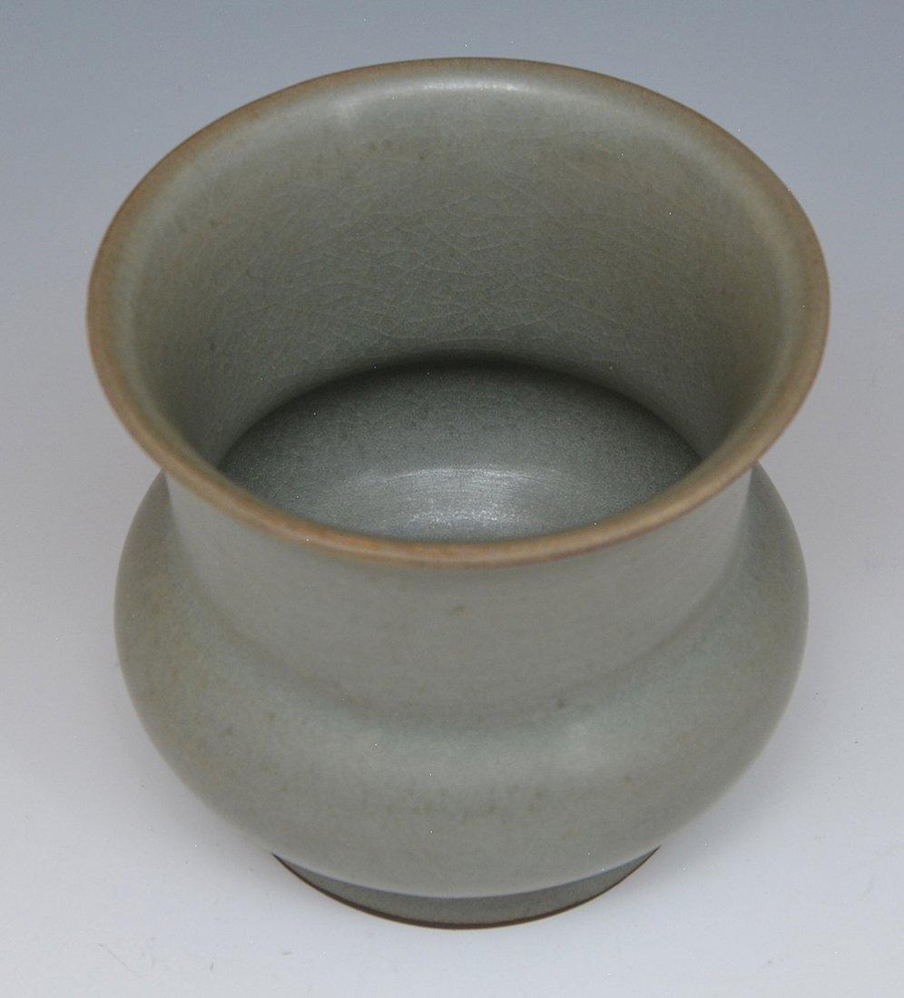 Chinese Lungch'uan Celadon Jar - 2