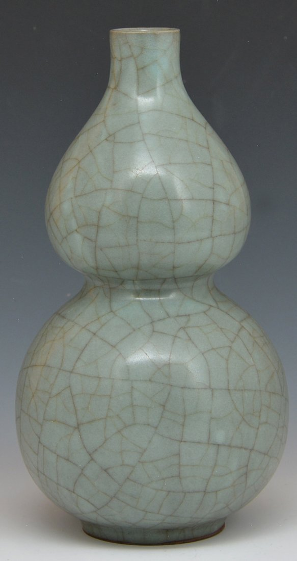 Chinese Double-Gourd Vase