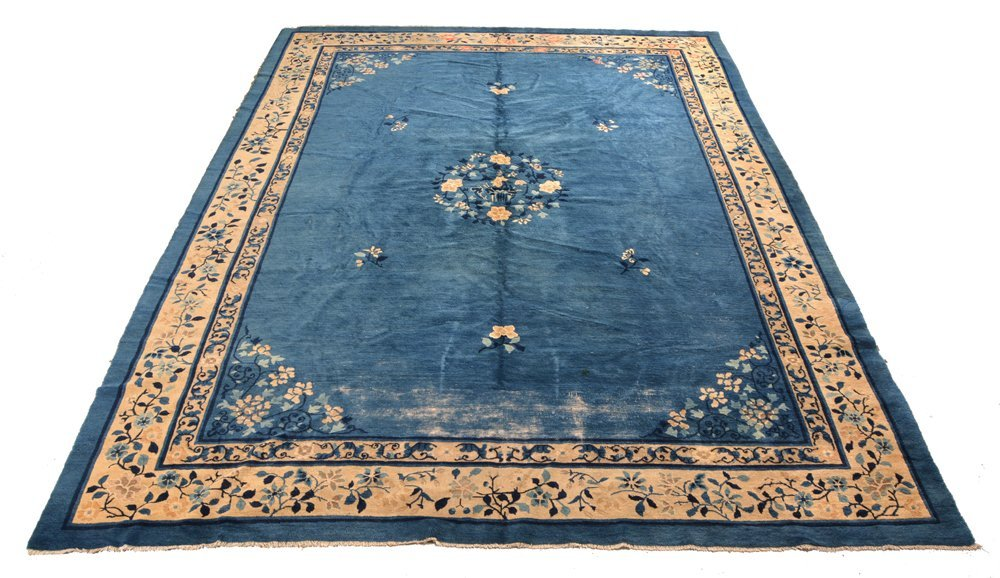 Antique Chinese Rug, Circa 1900