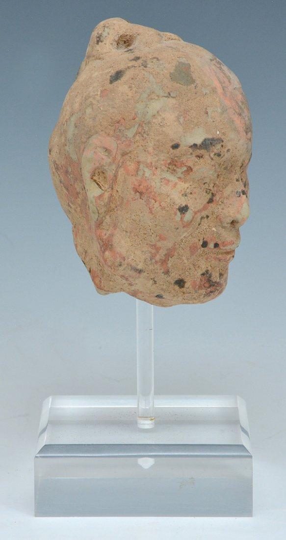 Chinese Han dynasty Ceramic Head - 2