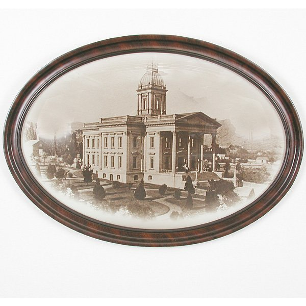 2: Framed Photo, San Rafael Courthouse