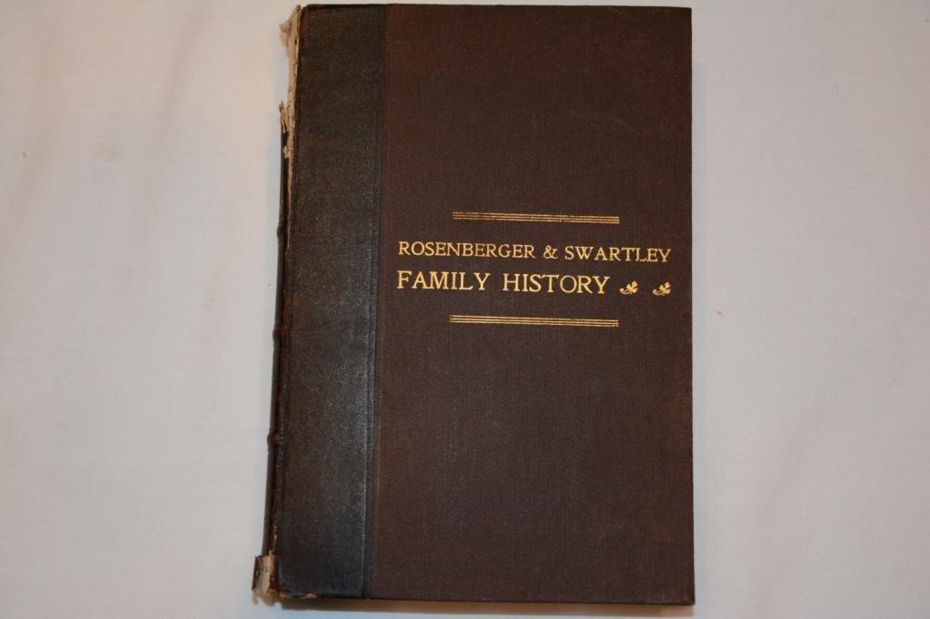 Descendants of Henry Rosenberger of Franconia