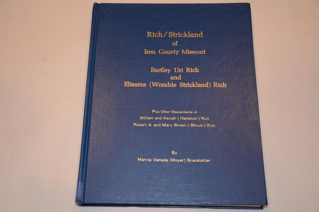 First Edition by Branstetter