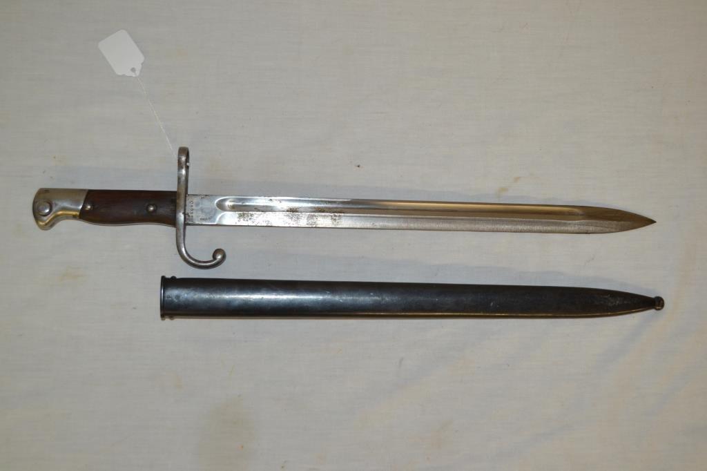 Bayonet & Scabbard Matching Serial #'s Match