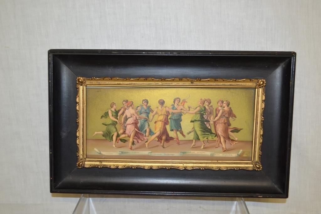 Grecian Dancing Girl Print