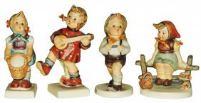 Lot of 4 Hummels Children Figurines