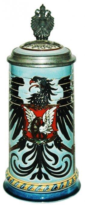Telegrapher Occupational Eagle Mettlach Stein