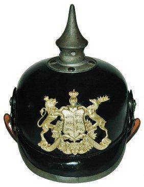 Badden Shield Imperial German Helmet