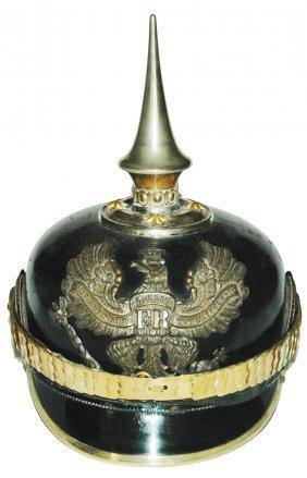 Prussian Eagle Shield Imperial German Helmet