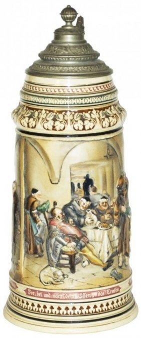 4L Monks & Falstaff Dumler & Breiden Relief Stein