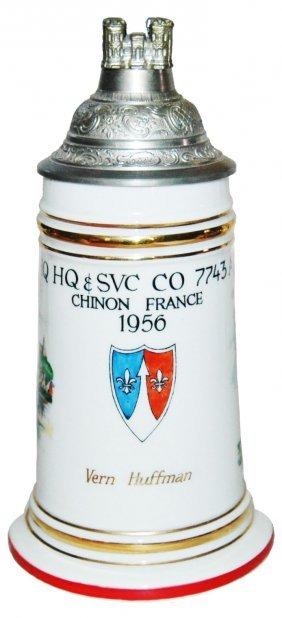 US Cold War 1956 Chinon France Stein