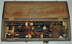 Old Bagpipe Musical Instrument
