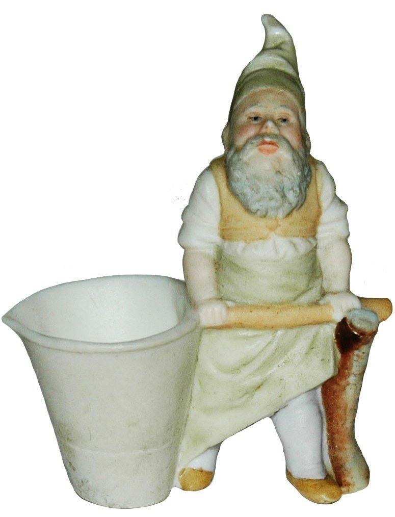 Miner Dwarf w Ladle Porcelain Figure