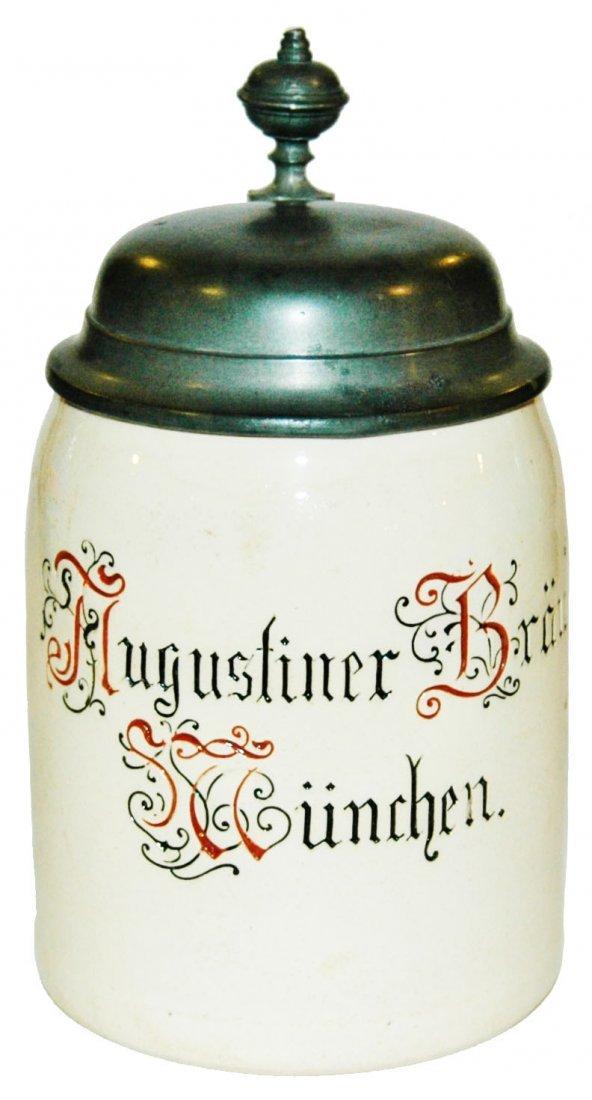 Augustiner Brau Brewery Mettlach Munich Stein