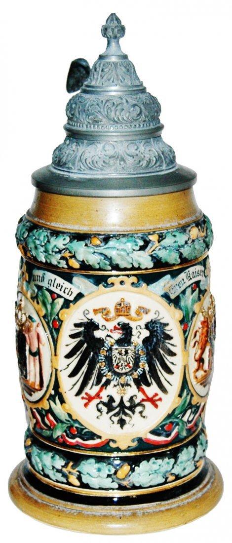 Imperial Eagle & State Shields Hanke Stein