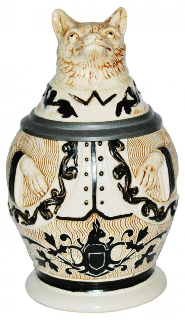 Well Dressed Fox Character Stein