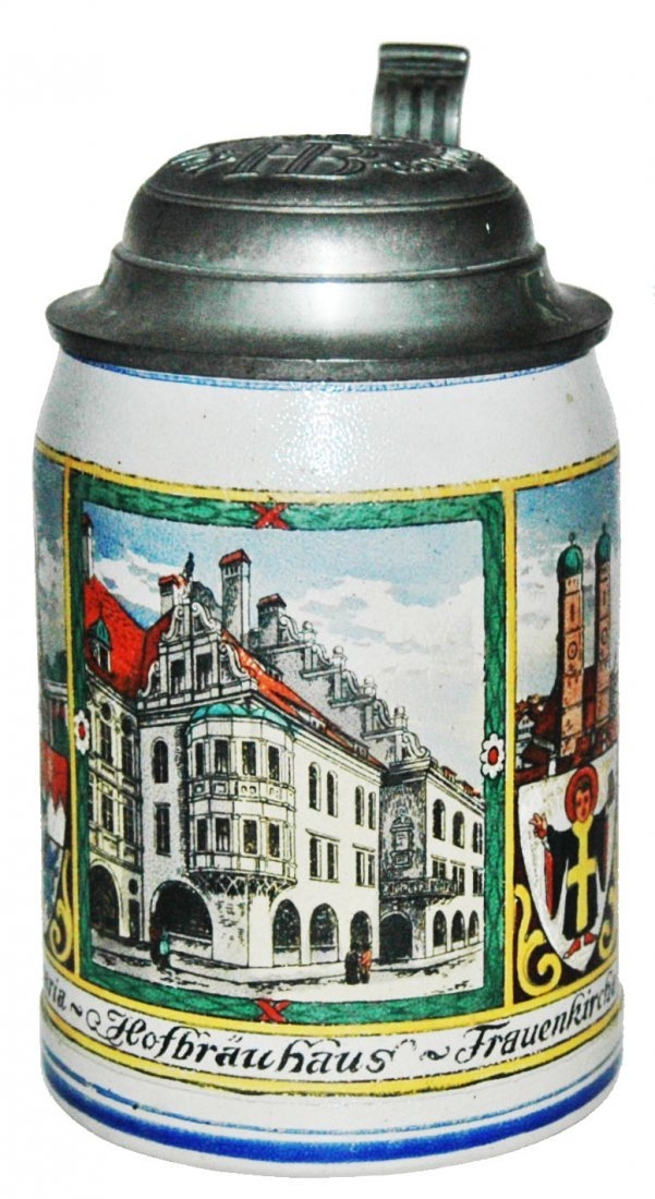 Hofbrauhaus & Munich Child HB Stein
