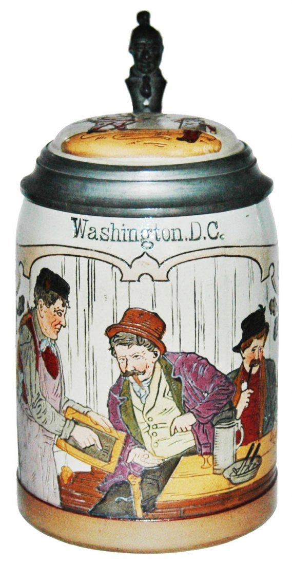 Man Can't Pay Bar Tab Washington DC Stein