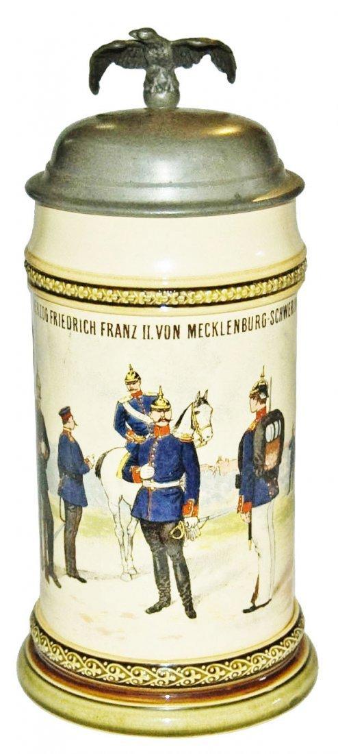 Inft Regimental Mettlach Nr 24 Mettlach Stein
