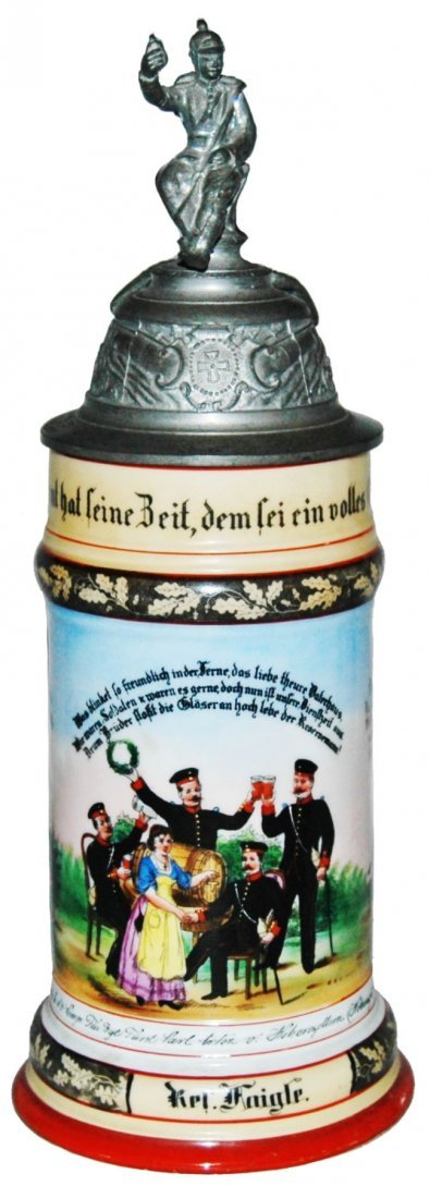 Regimental Stein Furst No 40 Sachen