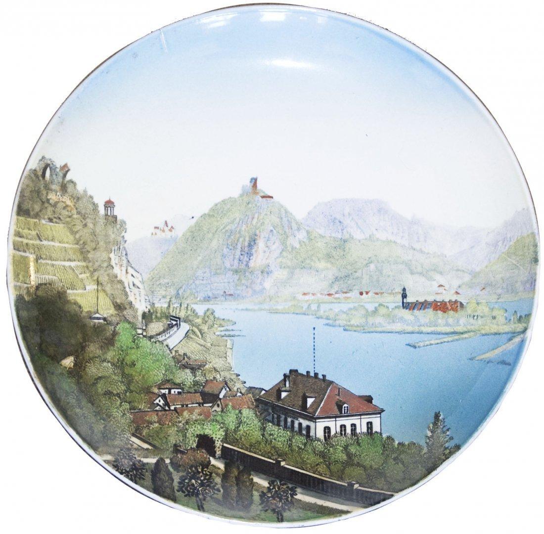Rolandseck Siebengebirge Mettlach Plaque
