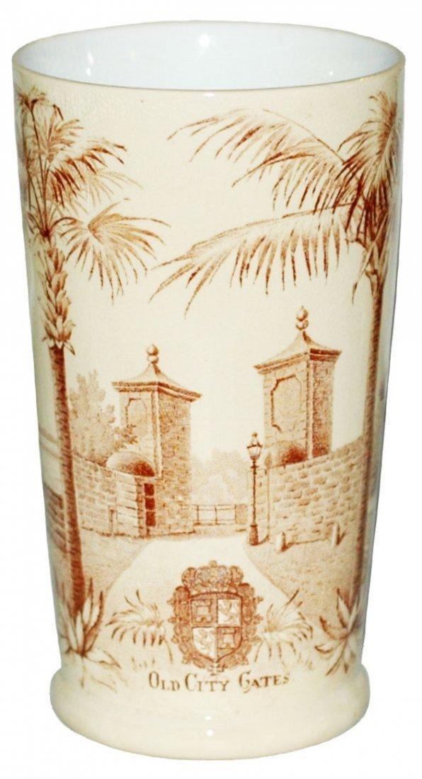 St Augustine Florida Mettlach 1/4L Beaker