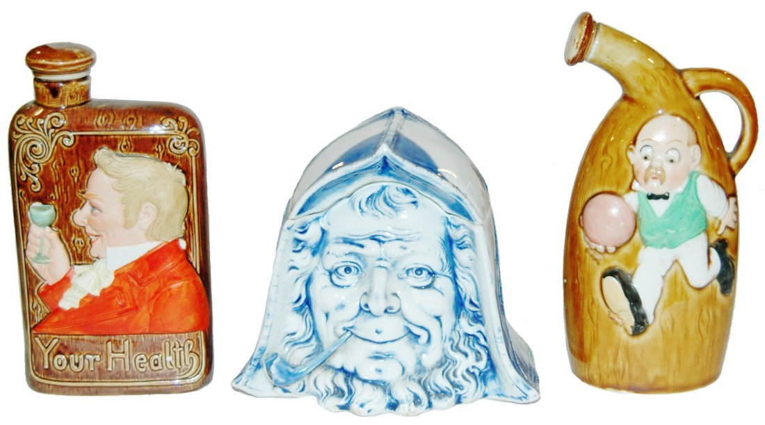 Three Schaefer & Vater Items - 2 Bottles + Tobacco