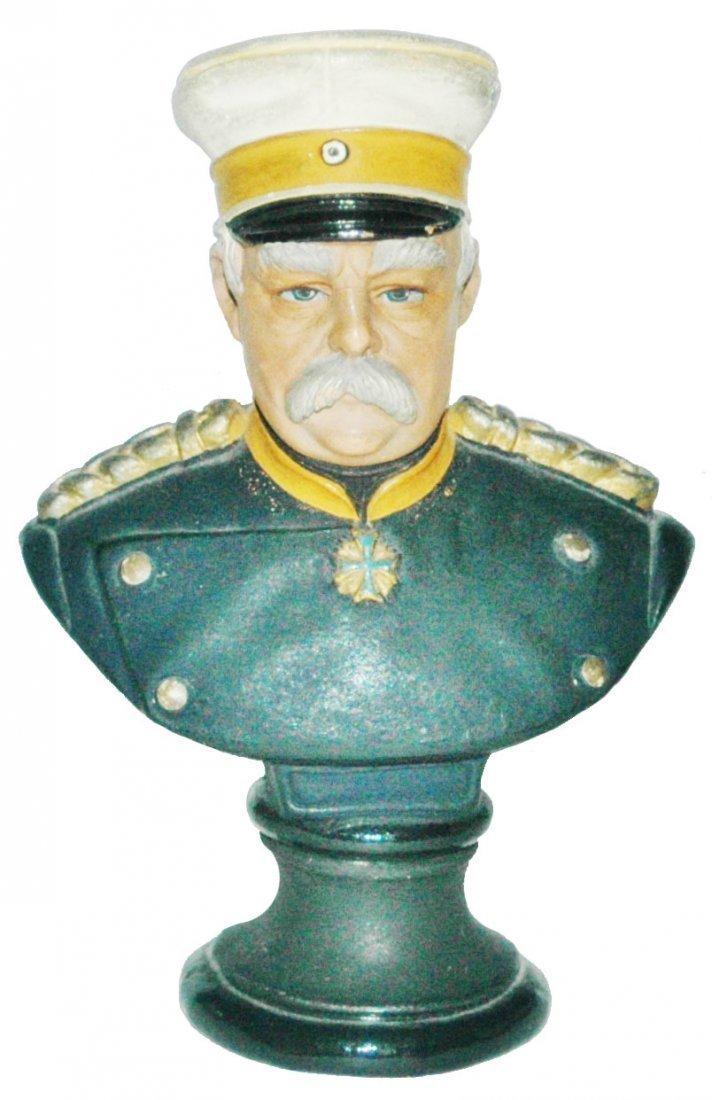 Terracotta Bismark Bust