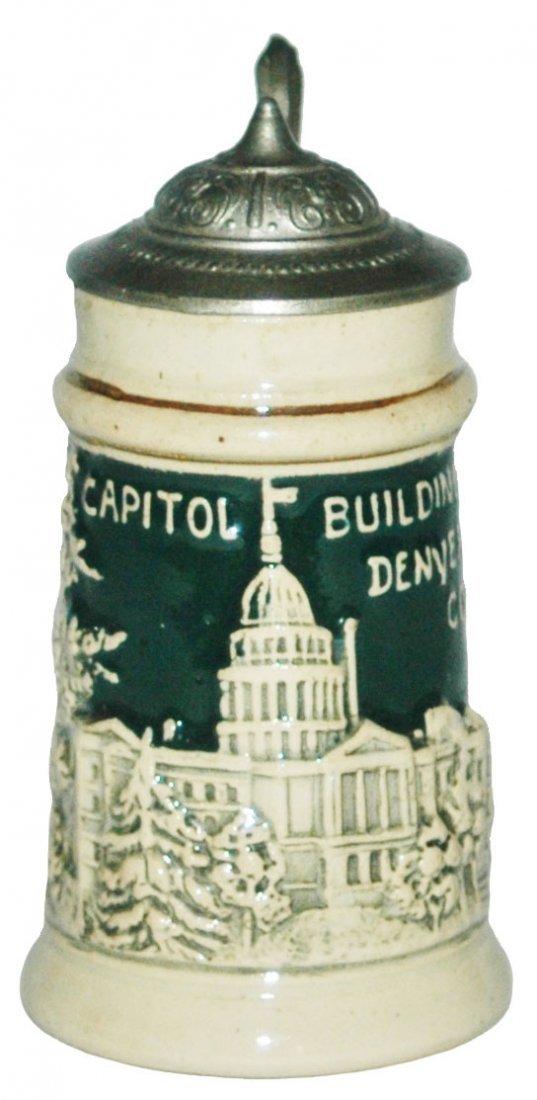 Souvenir Denver Capital Building 1/16L Stein