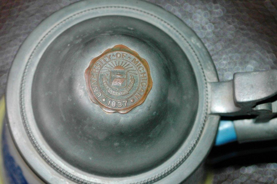 University Michigan Seal Columbian Art Pott Stein - 2