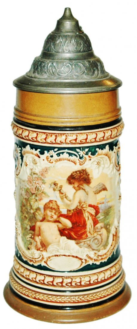 HR Decorated Thewalt Cherubs Stein