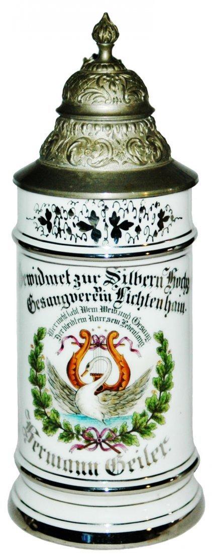 Lichtenhain Singing Club Silver Anniversary Stein