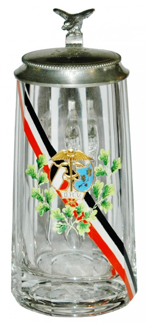 Medical Symbol & Prussian Fraternal Sash Stein