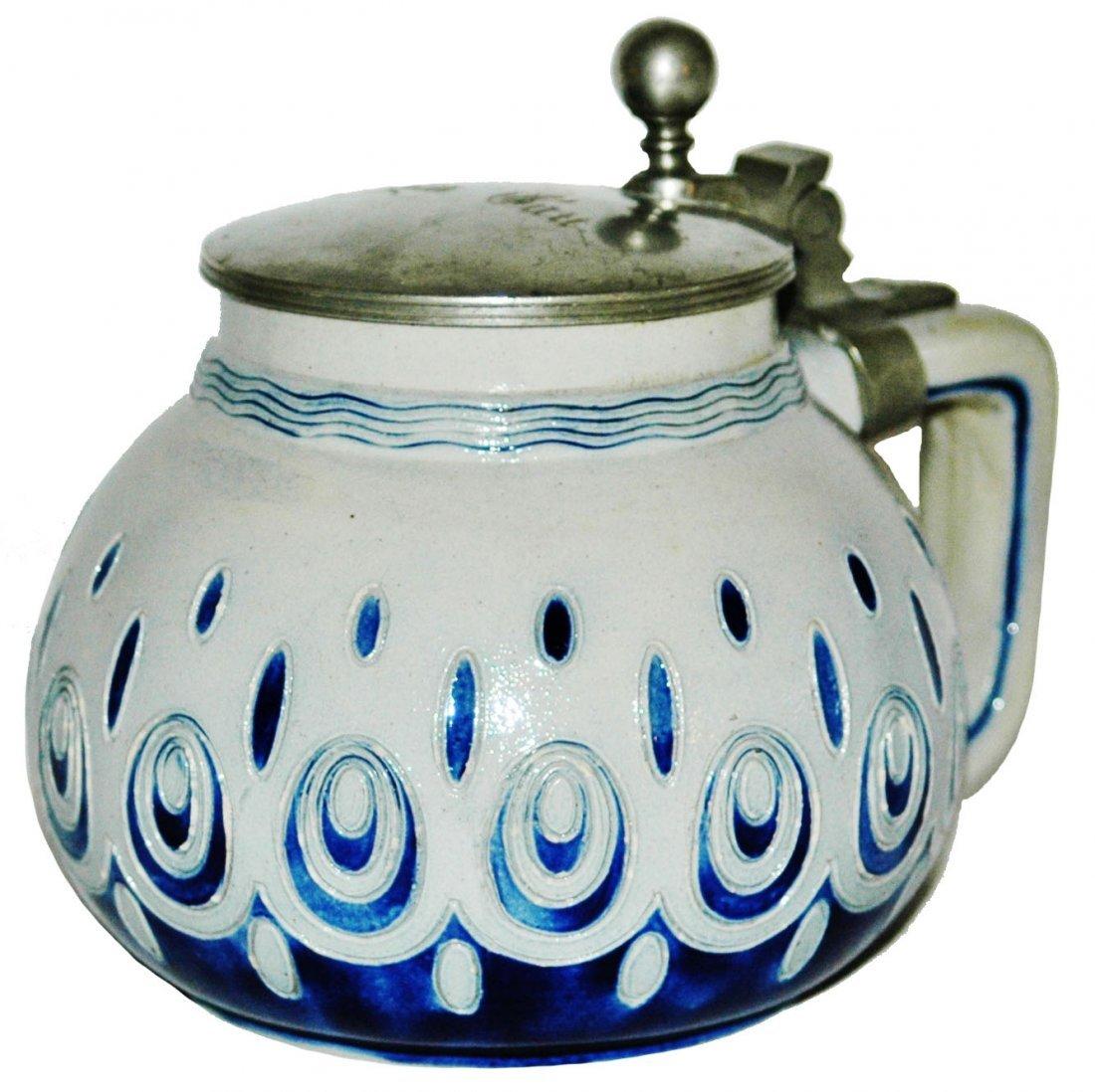 Art Nouveau Stoneware Merklebach & Wick Stein
