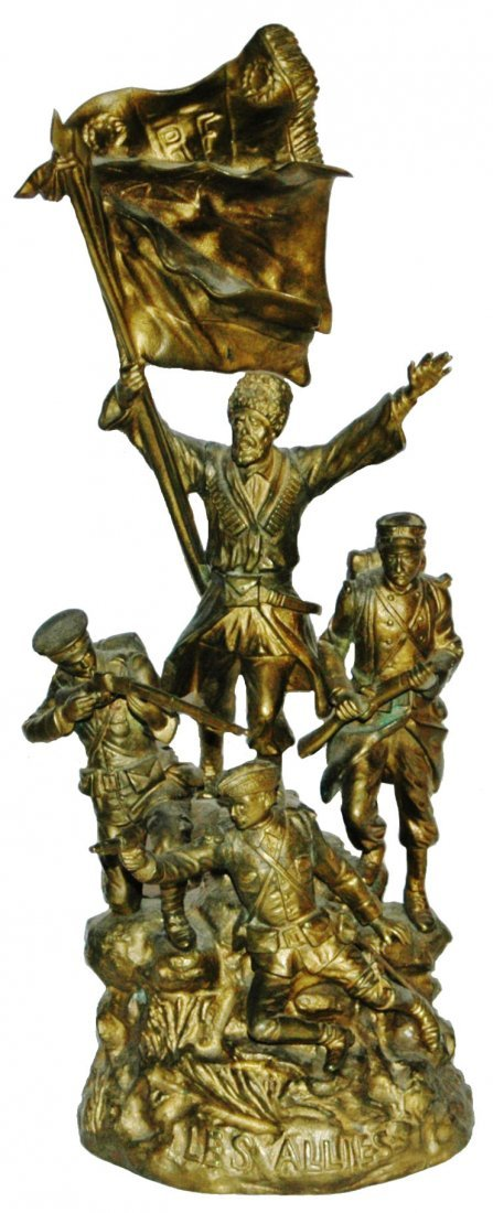 Bronze Soldiers of Different Countries The Allies