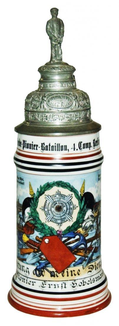 Garde Pionier  Regimental Stein