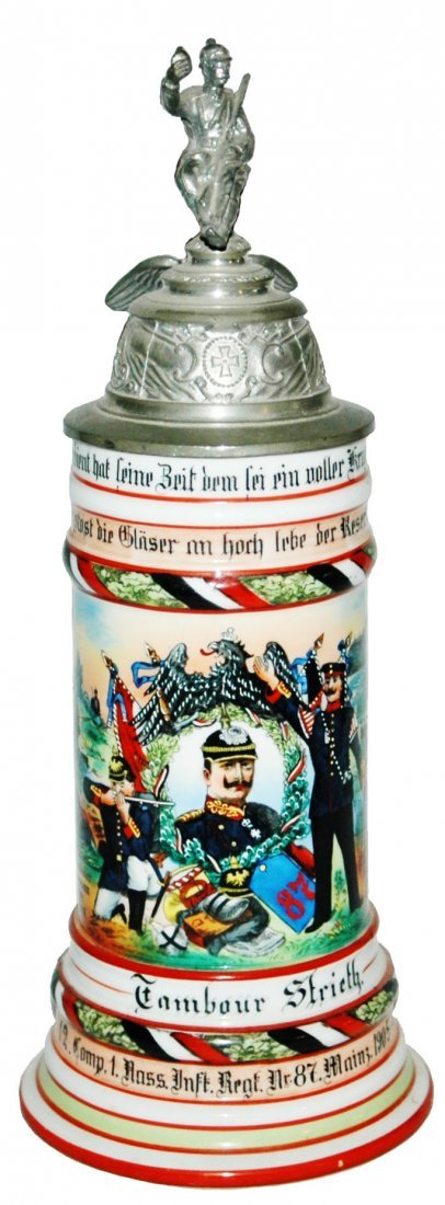 Inft Nr 87 Mainz Regimental Stein