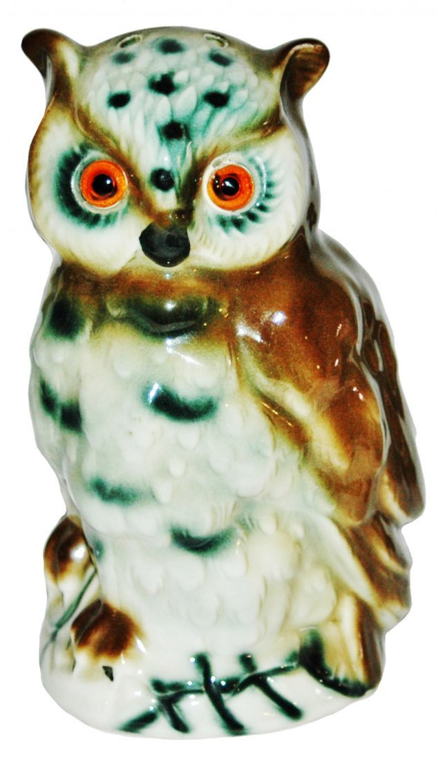Character Porcelain Owl Lamp