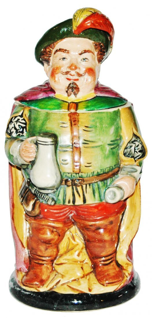 Falstaff w Goblet Hanke Character Stein