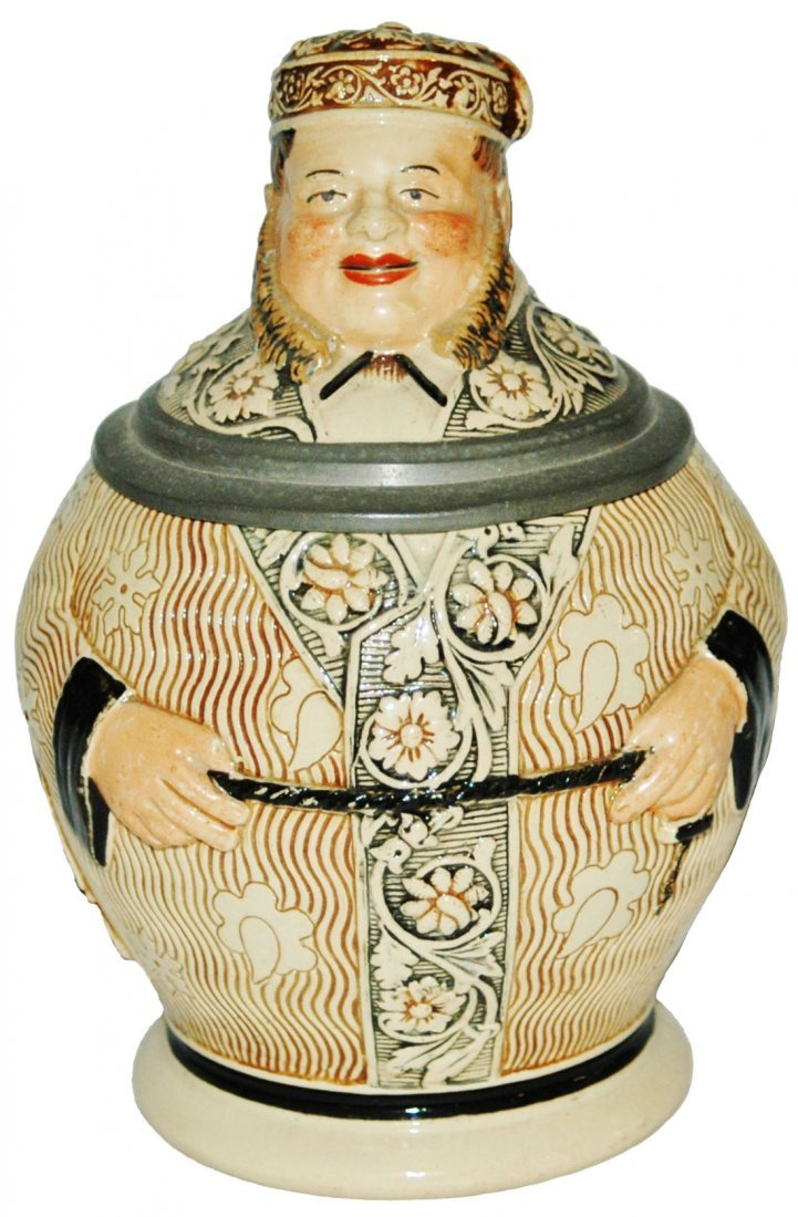 Well Dress Man Character Stein